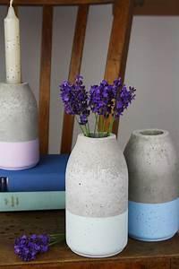 Vasen Aus Beton : sch ne vase aus beton einfach selber gie en ~ Sanjose-hotels-ca.com Haus und Dekorationen