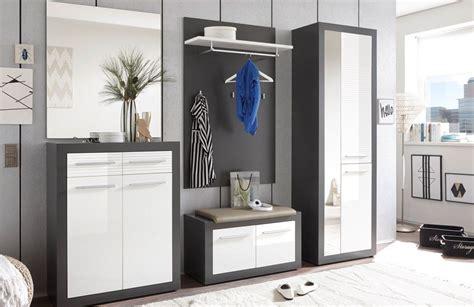 garderoben set grau kolibri look garderobe in grau wei 223 kissen garderoben sets kaufen