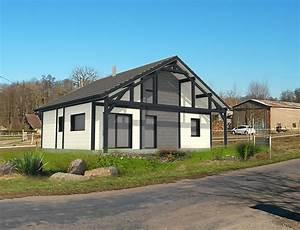 bardage maison moderne tarif pose bardage maison moderne With superb plans de maison moderne 2 maison bois plein pied avec bardage canexel nos maisons