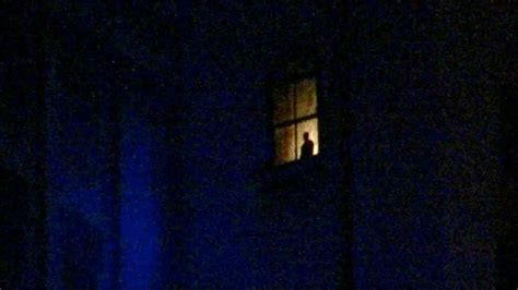 terror tower window silhouette disney hollywood studios standing walt