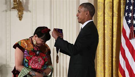 president obama awards sandra cisneros   national