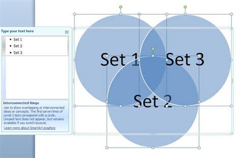 create  venn diagram  powerpoint