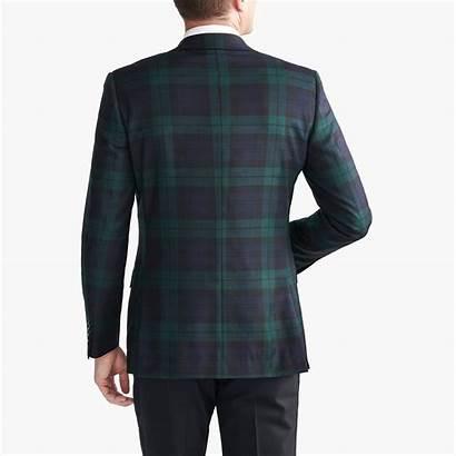 Plaid Tuxedo Jacket Crew Jcrew Blackwatch Wool