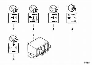 Original Parts For E60 M5 S85 Sedan    Engine Electrical System   Relay Motor