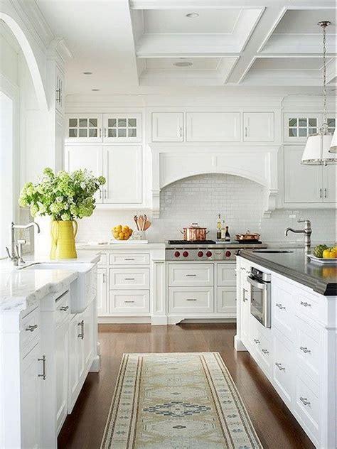 elegant white kitchen interior designs  creative juice