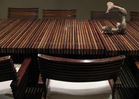 palm coconut wood furniture interior design