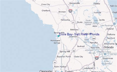 dixie bay salt river florida tide station location guide