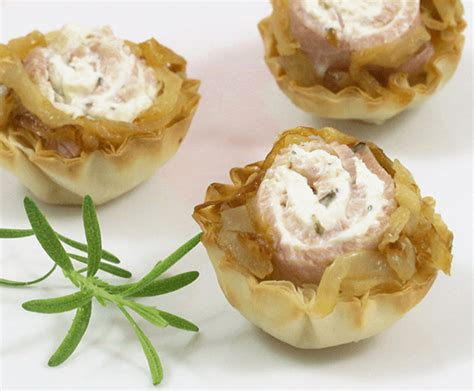 filo pastry cases canapes ham phyllo canapes hor dourves recipes athens foods