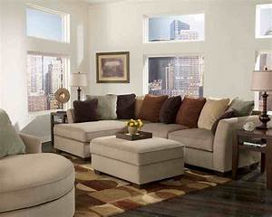 Sectional in small living room loveseats for small for Decorating a small living room with a sectional