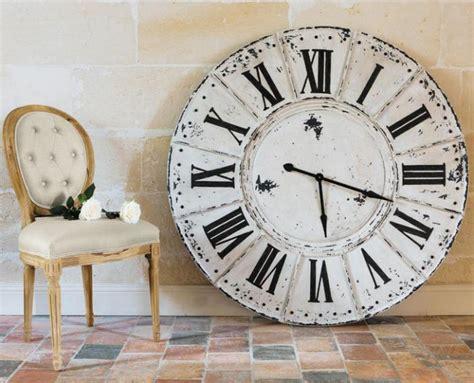 horloge maison du monde la grande horloge murale en photos archzine fr