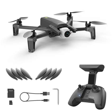 parrot anafi  portable drone extended combo pack pf dynnex drones