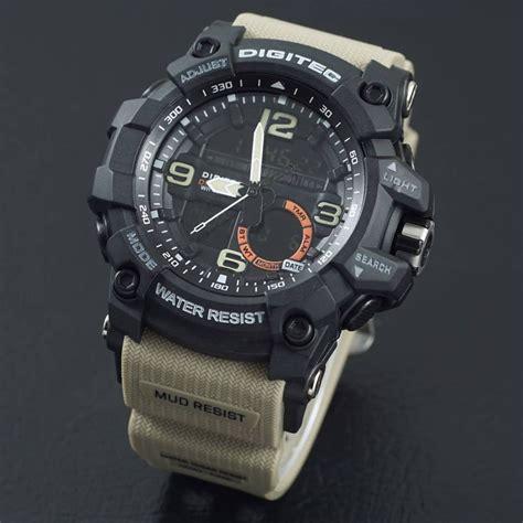 Jam Tangan Digitec 2011t Diskon jual jam tangan digitec dg 2102t hitam tali coklat digitec