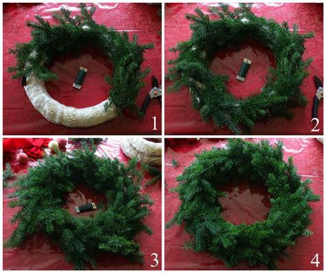 homemade christmas wreaths ideas  pinterest