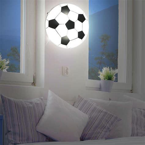 led children ceiling light glass football l boys
