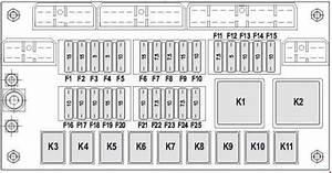 Komatsu Wb93s-5 - Fuse Box Diagram
