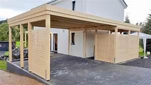 Design Carport Holz : home carports carports und berdachungen aus holz und metall ~ Sanjose-hotels-ca.com Haus und Dekorationen