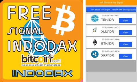 You may choose them from the footer menu. Download INDODAX FREE SIGNAL (VIP Bitcoin Indonesia) APK for Android - Latest Version