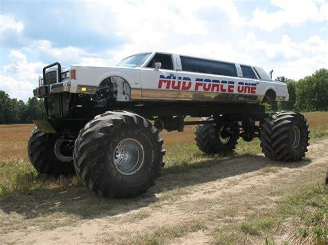 monster truck mud videos mud force one monster limousine trucks pinterest