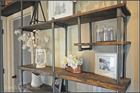 Build A Budget-friendly Industrial Shelf