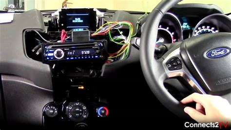 ford fiesta  steering wheel adapter youtube