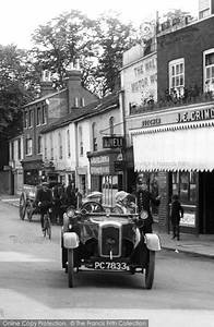 Photo Of Walton On Thames  Car In The High Street 1923