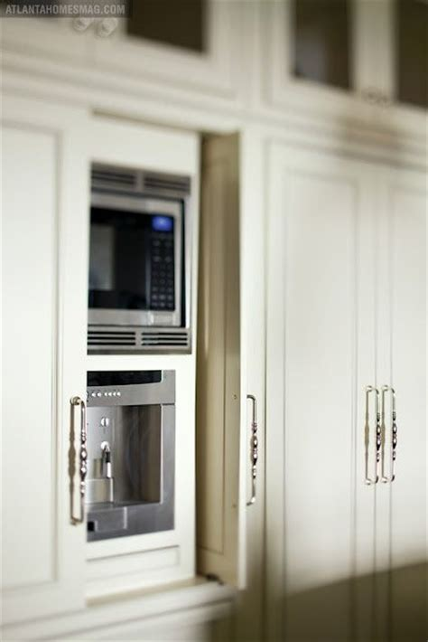 great   hide microwave  inspired kitchen