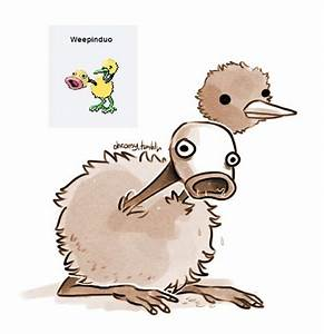 Pokemon Fusion Doduo And Weepinbell Images | Pokemon Images