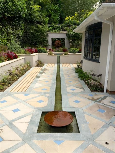 rill water feature haslemere pc landscapes