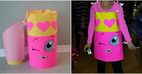 Shopkin Costume Lippy Lips Shopkin Costume for Halloween   Kid Fun   Pinterest   Lips Costumes ...