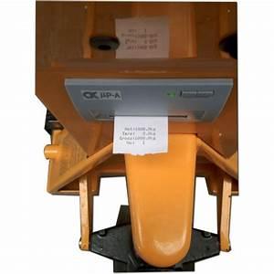 Transpalette Pas Cher : transpalette peseur avec imprimante type tpxi ~ Edinachiropracticcenter.com Idées de Décoration