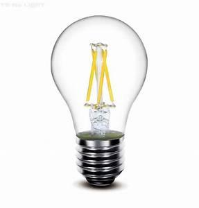 Ampoule Led Filament : ampoule led filament sans scintillement culot e27 6w ~ Teatrodelosmanantiales.com Idées de Décoration