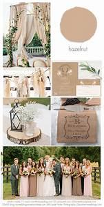 Hazelnut 2017 Wedding Idea Inspirations Using Hazelnut In
