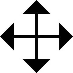 Cursor Drag Arrow Icon