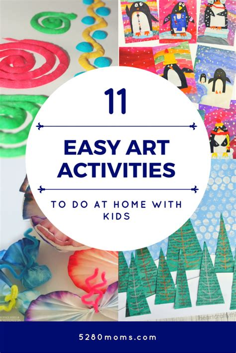 easy art activities    home  kids