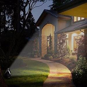 Outdoor Solar Ultra Bright 30 Led Garden Flood Spot Light Lawn White Yard Security Lamp For