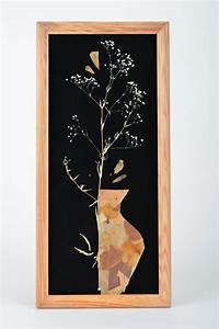 Cadre Décoratif Mural : madeheart beau tableau d coratif mural rectangulaire fait main avec plantes s ch es ~ Teatrodelosmanantiales.com Idées de Décoration
