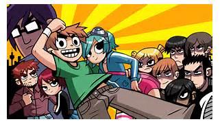 Scott Pilgrim Vs The World Manga Wallpaper Ialoveniinfo
