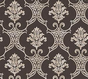 Tapete Barock Schwarz : tapete barock klassisch schwarz beige livingwalls 32830 6 ~ Yasmunasinghe.com Haus und Dekorationen