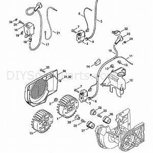 Stihl Ts 400 Disc Cutter  Ts400  Parts Diagram  Ignition