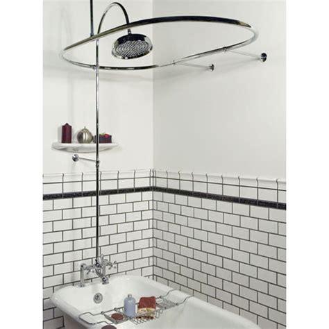 can a modern freestanding bathtub also be a shower