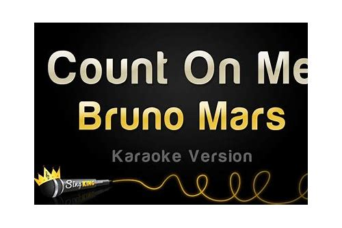 download bruno count on me mp3