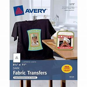 Avery iron on transfer paper zerbee for Free t shirt transfer templates