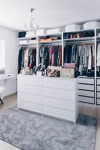 Ikea Offener Kleiderschrank : so habe ich mein ankleidezimmer eingerichtet und gestaltet ~ Eleganceandgraceweddings.com Haus und Dekorationen