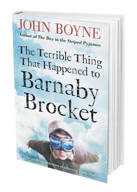 terrible   happened  barnaby brocket john