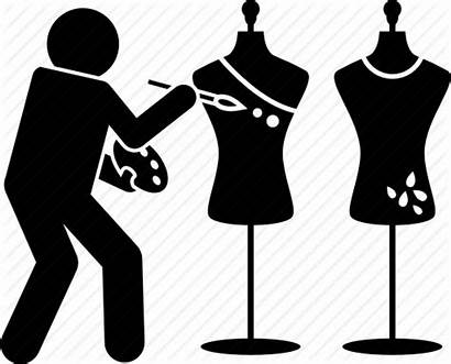 Clothes Designer Icon Clothing Artist Painter Painting