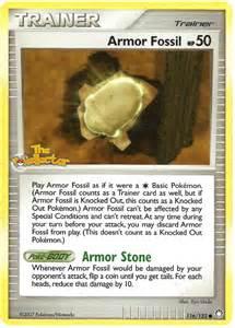 Armor Fossil Pokemon
