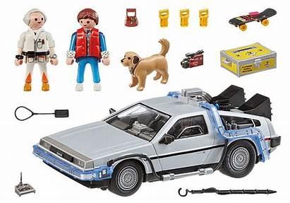 Delorean Future Playmobil Neu
