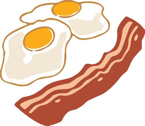 Bacon Clipart Bacon And Eggs Png Transparent Bacon And Eggs Png Images