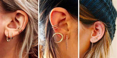 piercing oreille femme piercings d oreilles 15 id 233 es pour s inspirer cosmopolitan fr