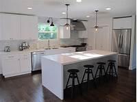 kitchen with island Tips to Design White Kitchen Island - MidCityEast